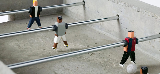 Minimal Foosball Table for Nike