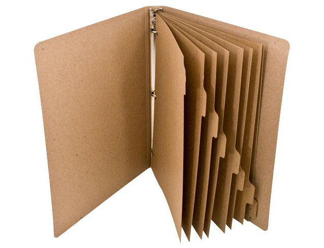 Recycled Tab Dividers