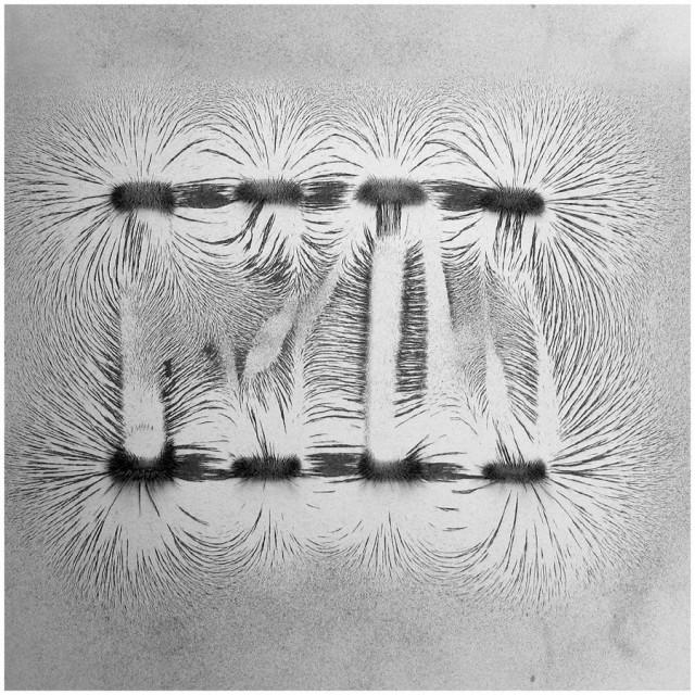 Minimal Magnetism Art by Ling Meng