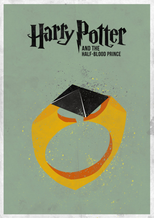 Minimal Harry Potter Film Poster