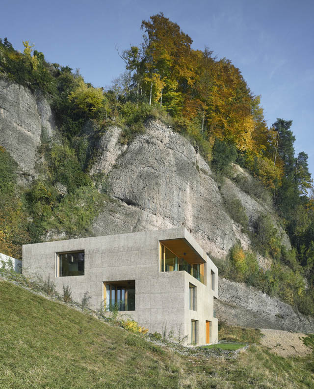 House Vitznau By Lischer Partner Architects