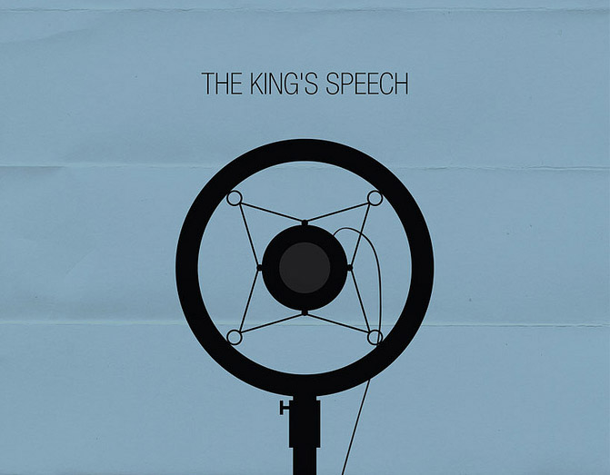 Kings Speech Minimal Poster