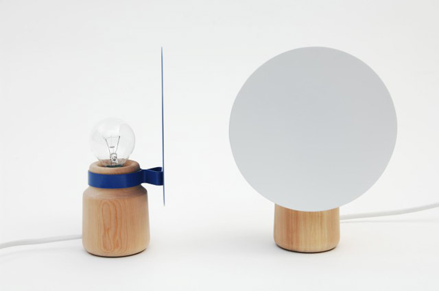 Minimal Shelf Lamp