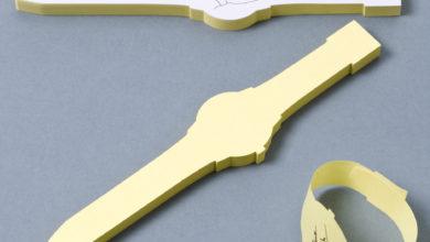 Photo of Post-It Note Watch by Doriane Favre