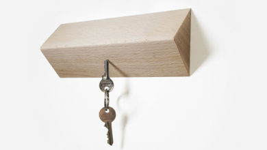 Photo of Matarile ~ Wooden Magnetic Key Holder