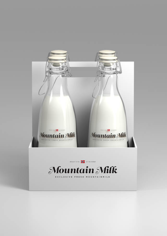 Mountain Milk by Anders Drage