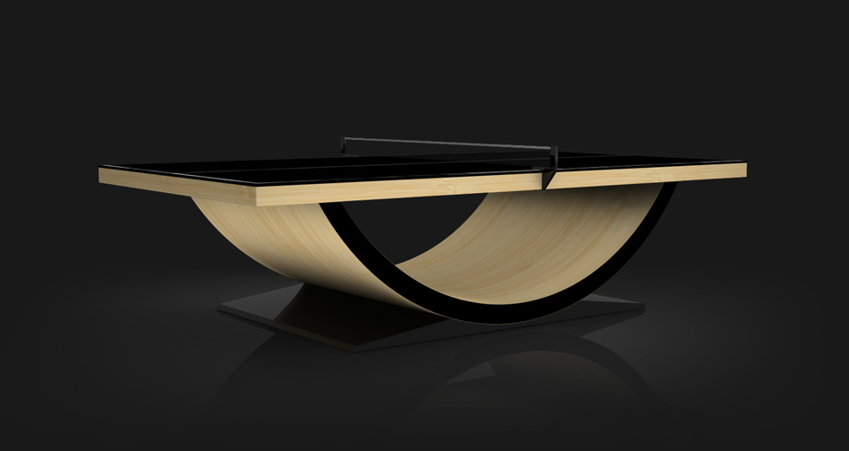 Theseus ~ Bamboo Table Tennis Table