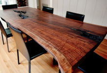 Photo of Wood Slab Furniture