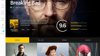 Photo of IMDb Redesign Concept