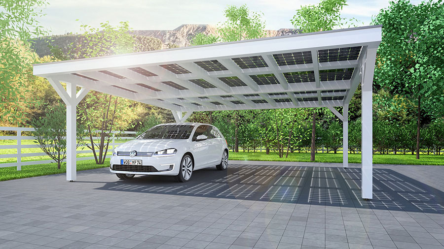 What Are The Main Differences Between Solar Carports Pergolas And
